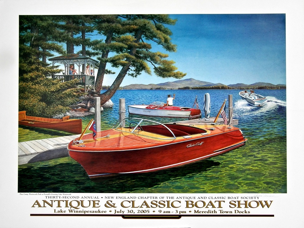 New England Chapter Of The Antique And Classic Boat Society