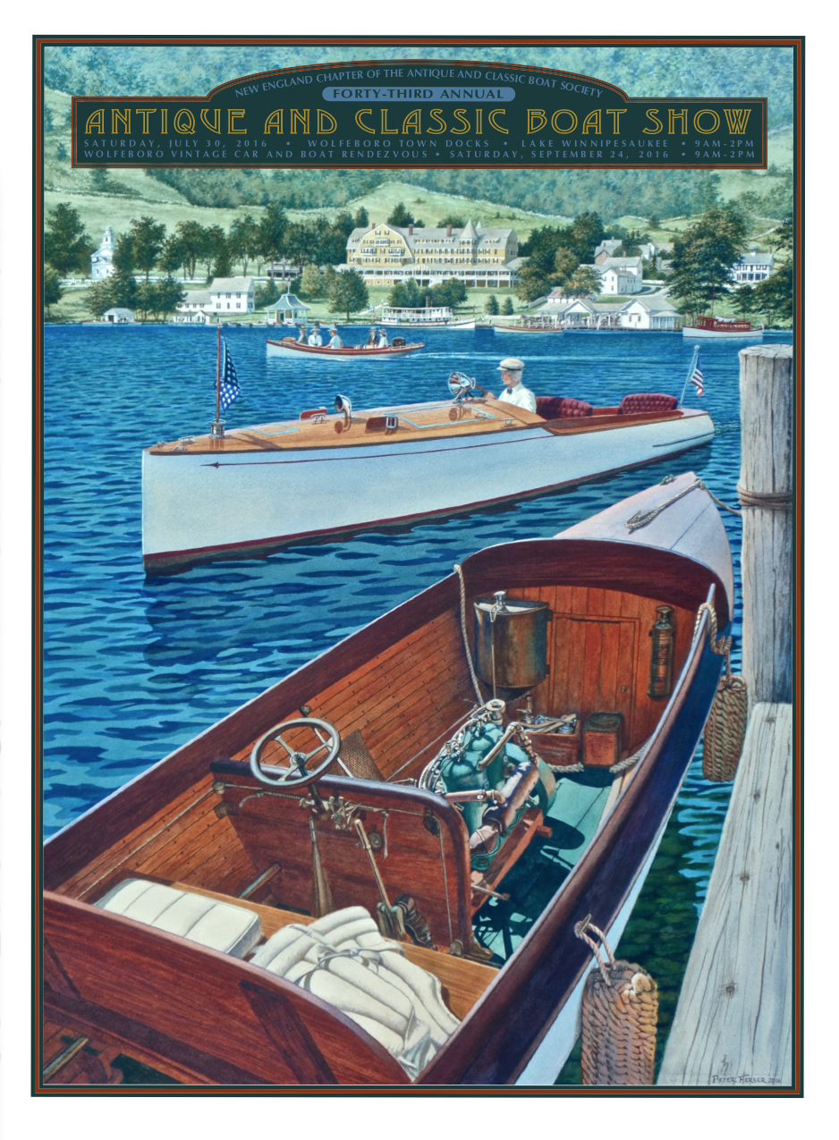 New England Chapter Of The Antique And Classic Boat Society Peter