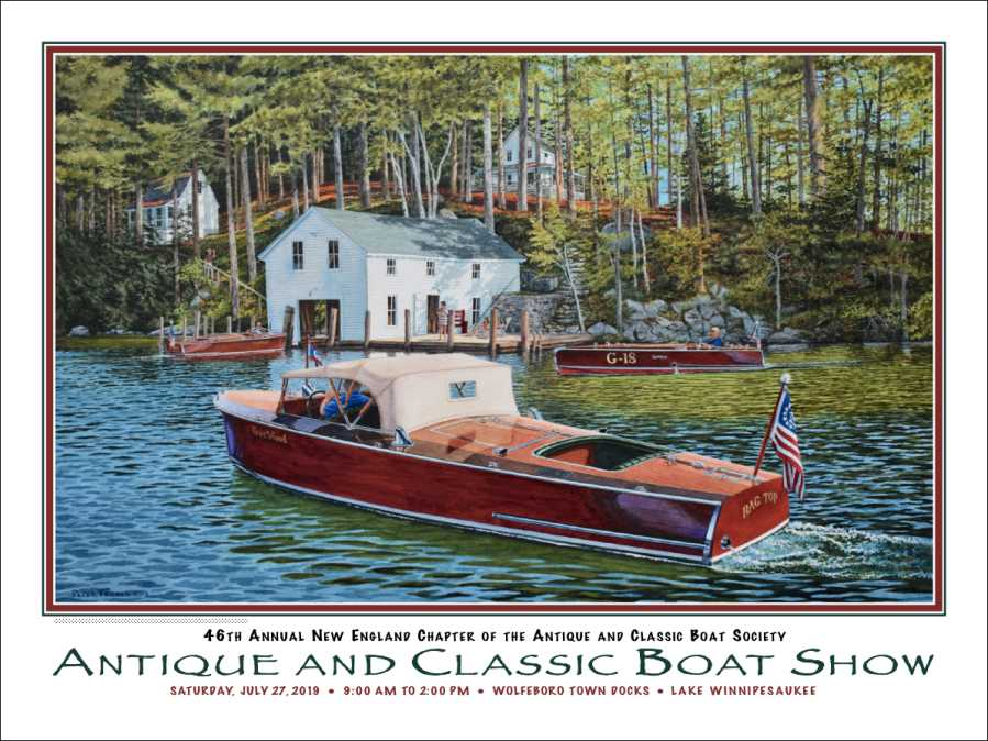2019 Boat Show Poster by Peter Ferber